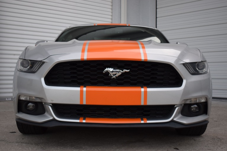 Used 2015 Ford Mustang EcoBoost Premium Coupe 2D for sale Sold at Track and Field Motors in Safety Harbor FL 34695 3
