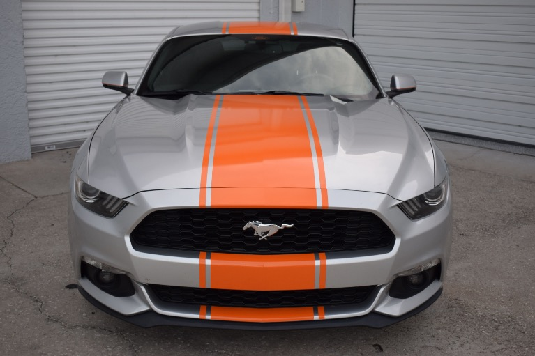 Used 2015 Ford Mustang EcoBoost Premium Coupe 2D for sale Sold at Track and Field Motors in Safety Harbor FL 34695 4
