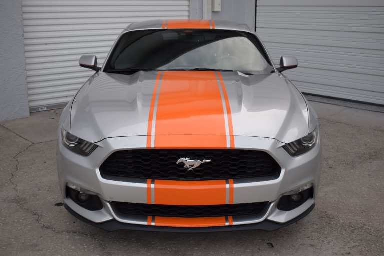 Used 2015 Ford Mustang EcoBoost Premium Coupe 2D for sale Sold at Track and Field Motors in Safety Harbor FL 34695 5