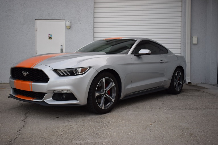 Used 2015 Ford Mustang EcoBoost Premium Coupe 2D for sale Sold at Track and Field Motors in Safety Harbor FL 34695 6