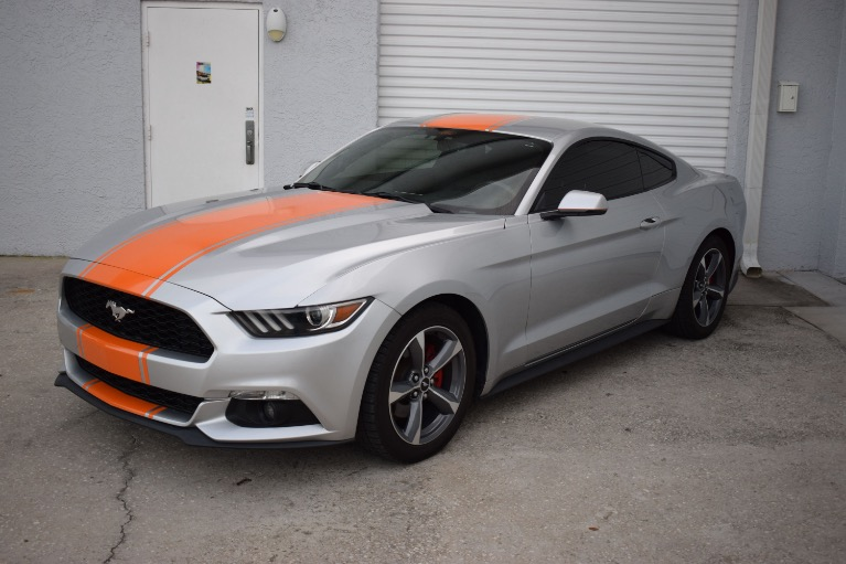 Used 2015 Ford Mustang EcoBoost Premium Coupe 2D for sale Sold at Track and Field Motors in Safety Harbor FL 34695 7