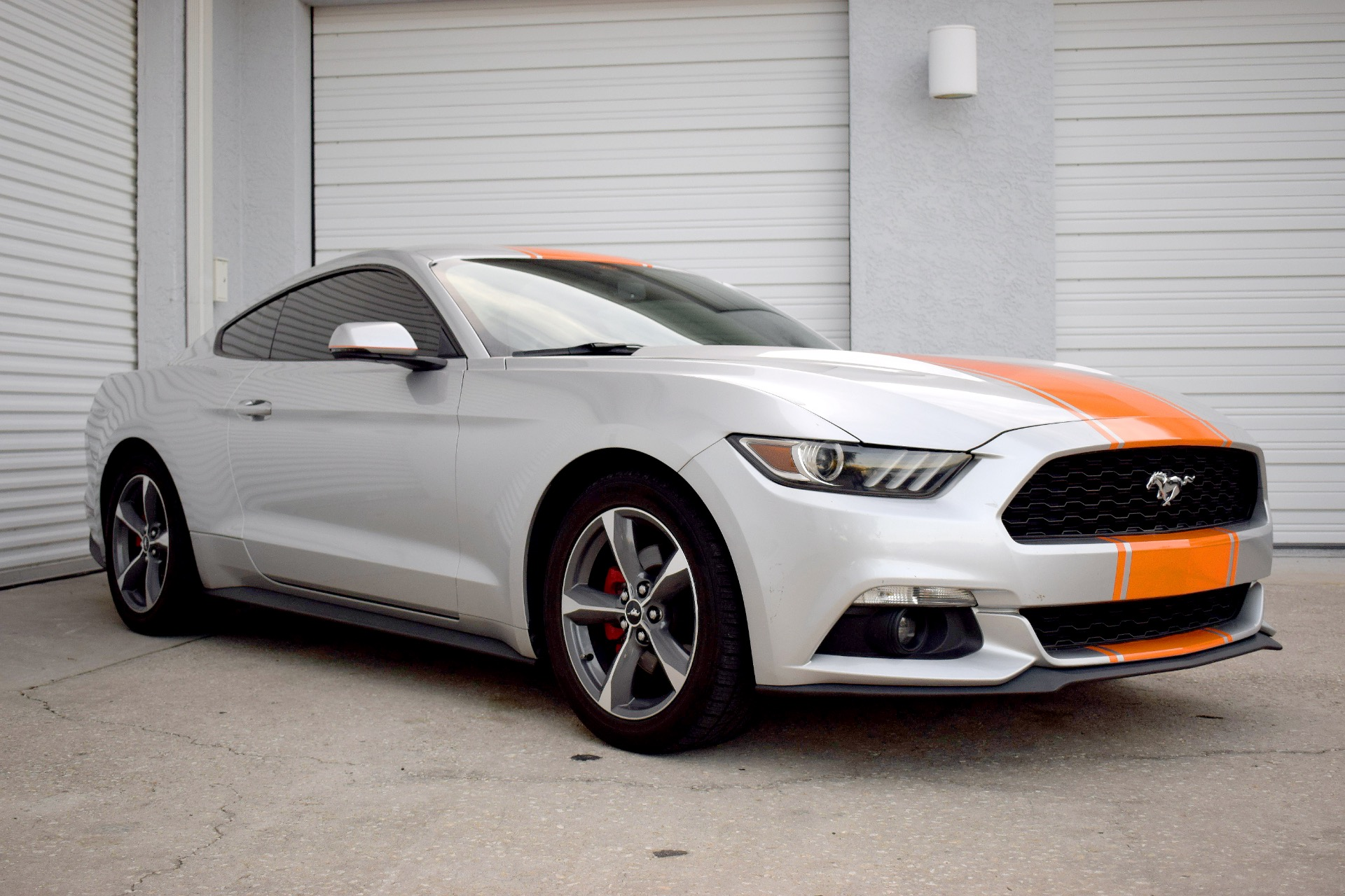 Used 2015 Ford Mustang EcoBoost Premium Coupe 2D for sale Sold at Track and Field Motors in Safety Harbor FL 34695 1