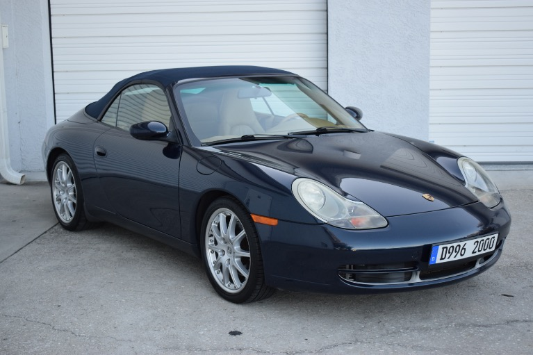 New 2000 Porsche 911 Carrera Cabriolet 2D for sale Sold at Track and Field Motors in Safety Harbor FL 34695 2