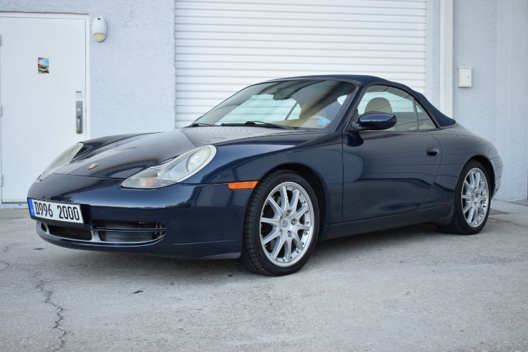 New 2000 Porsche 911 Carrera Cabriolet 2D for sale $19,497 at Track and Field Motors in Safety Harbor FL 34695 5