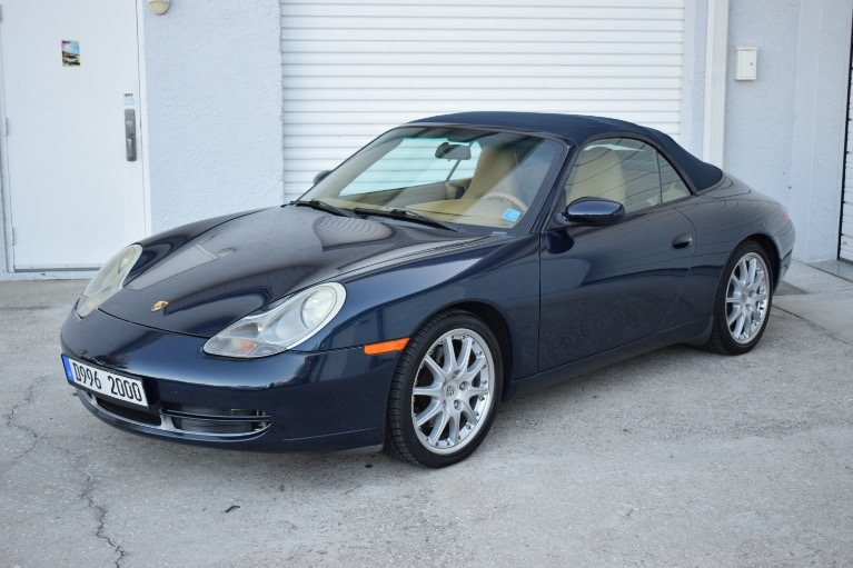 New 2000 Porsche 911 Carrera Cabriolet 2D for sale $19,497 at Track and Field Motors in Safety Harbor FL 34695 6