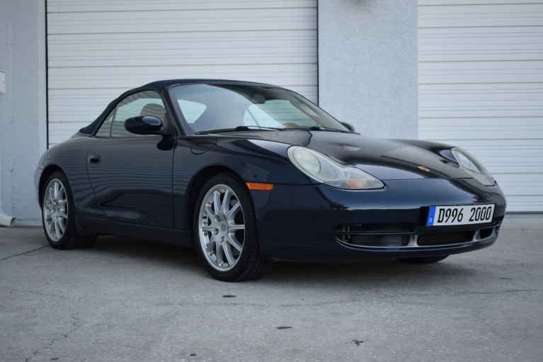 New 2000 Porsche 911 Carrera Cabriolet 2D for sale $19,497 at Track and Field Motors in Safety Harbor FL 34695 1