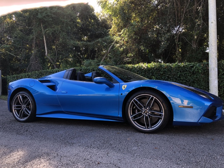 Used 2017 Ferrari 488 Spider Convertible 2D for sale Sold at Track and Field Motors in Safety Harbor FL 34695 2