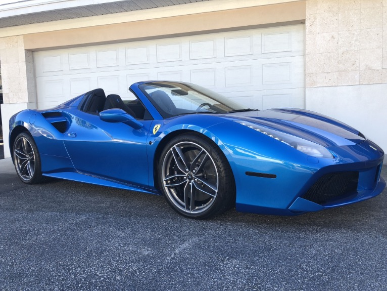 Used 2017 Ferrari 488 Spider Convertible 2D for sale Sold at Track and Field Motors in Safety Harbor FL 34695 5