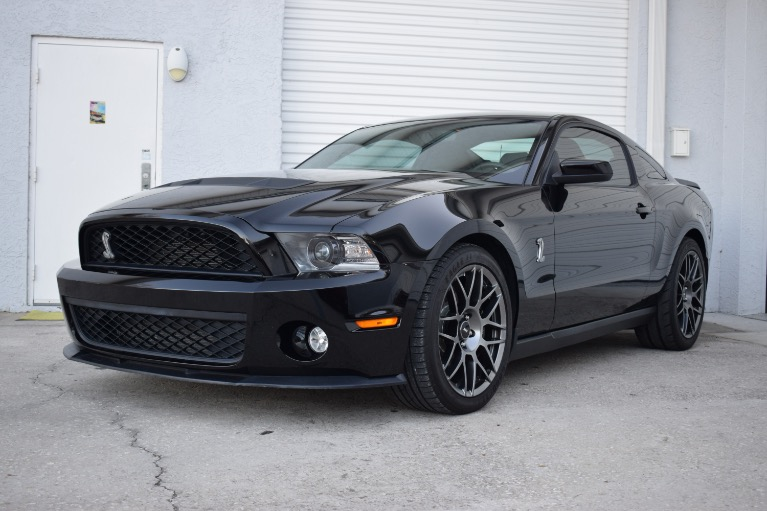 Used 2012 Ford Mustang Shelby GT500 Coupe 2D for sale Sold at Track and Field Motors in Safety Harbor FL 34695 5