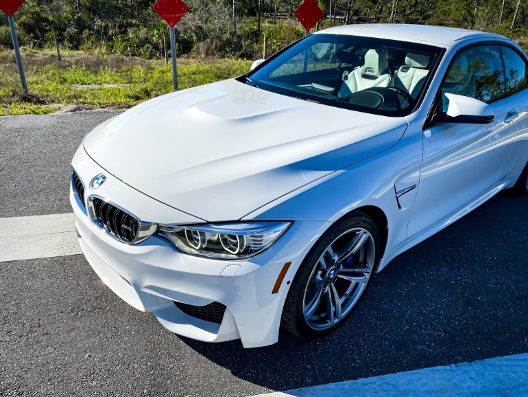 Used 2015 BMW M4 Convertible 2D for sale Sold at Track & Field Motors in Safety Harbor FL 34695 2