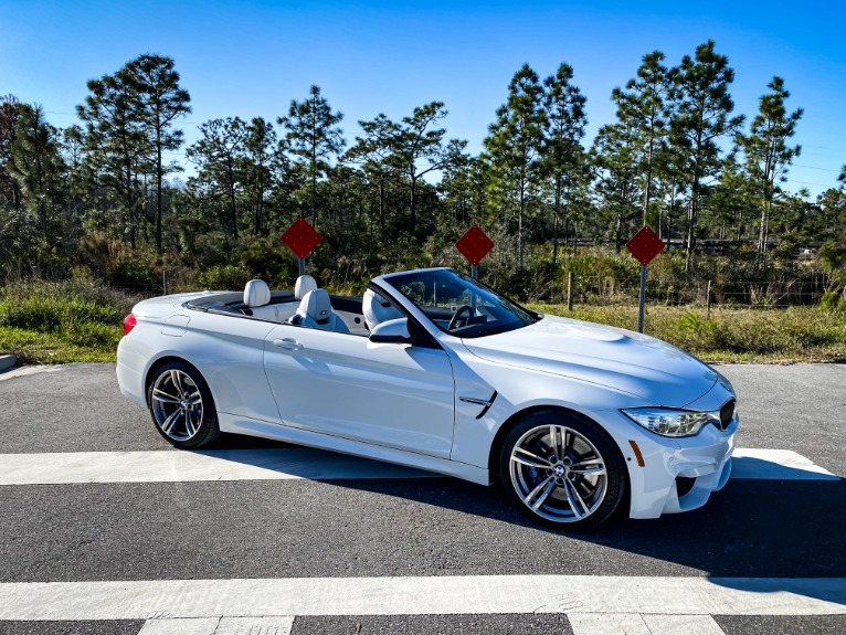 Used 2015 BMW M4 Convertible 2D for sale Sold at Track and Field Motors in Safety Harbor FL 34695 1