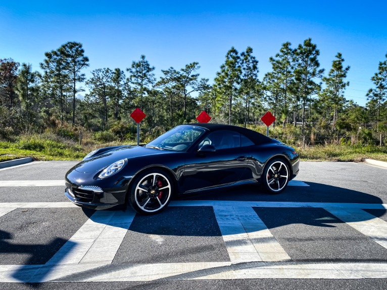 Used 2014 Porsche 911 Carrera S Cabriolet 2D for sale $79,997 at Track and Field Motors in Safety Harbor FL 34695 1