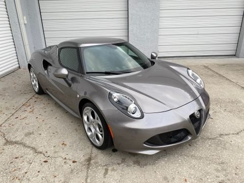 Used 2016 Alfa Romeo 4C Coupe 2D for sale Sold at Track and Field Motors in Safety Harbor FL 34695 2