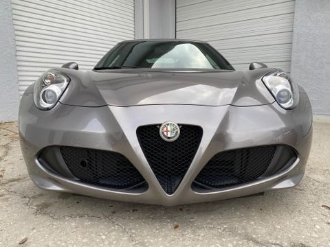 Used 2016 Alfa Romeo 4C Coupe 2D for sale Sold at Track and Field Motors in Safety Harbor FL 34695 4