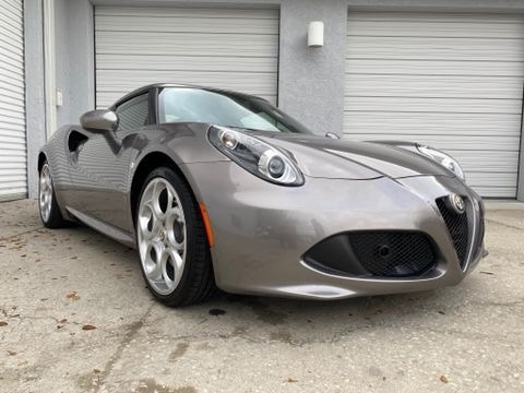 Used 2016 Alfa Romeo 4C Coupe 2D for sale Sold at Track and Field Motors in Safety Harbor FL 34695 1