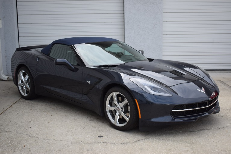 Used 2014 Chevrolet Corvette Stingray Convertible 2D for sale Sold at Track and Field Motors in Safety Harbor FL 34695 2