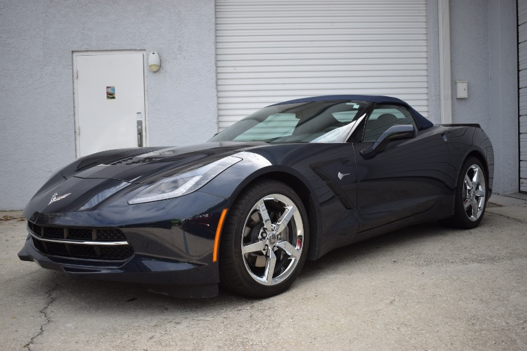 Used 2014 Chevrolet Corvette Stingray Convertible 2D for sale Sold at Track and Field Motors in Safety Harbor FL 34695 5