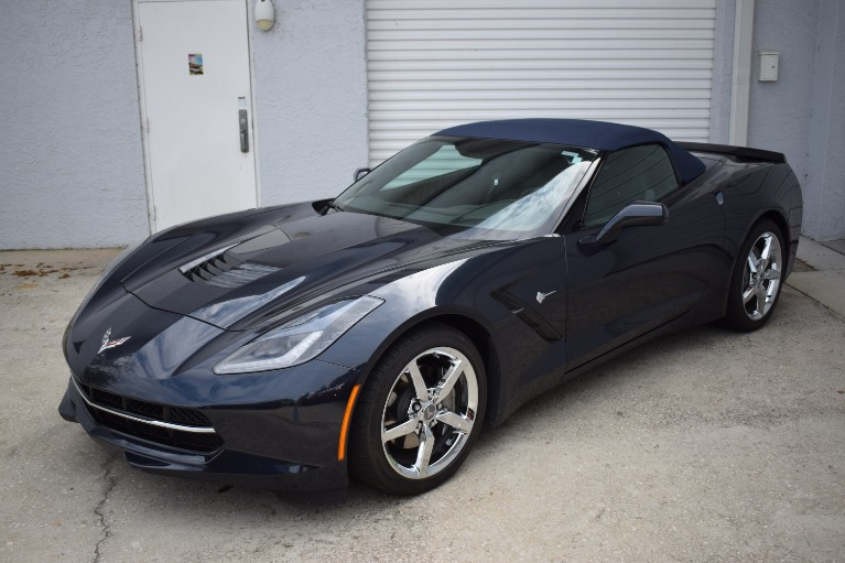 Used 2014 Chevrolet Corvette Stingray Convertible 2D for sale Sold at Track and Field Motors in Safety Harbor FL 34695 6