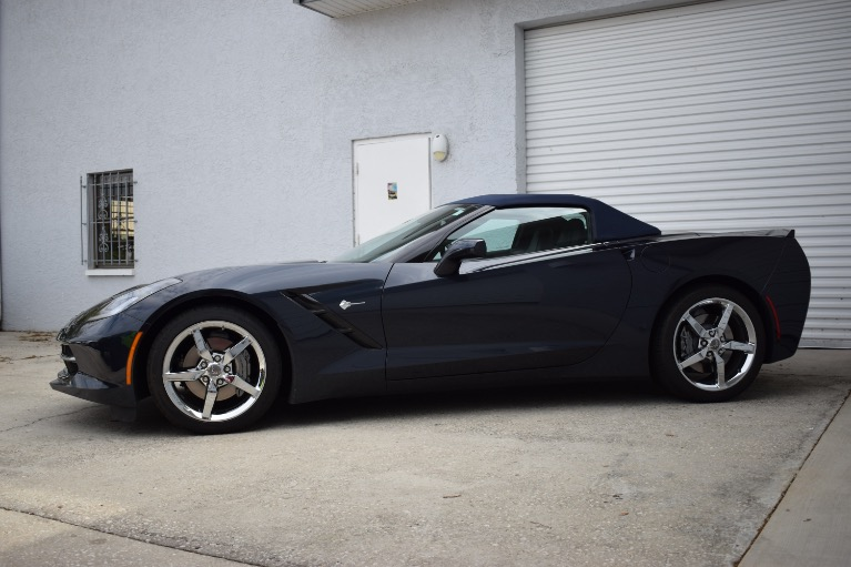 Used 2014 Chevrolet Corvette Stingray Convertible 2D for sale Sold at Track and Field Motors in Safety Harbor FL 34695 7