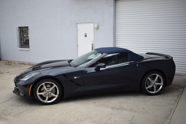 Used 2014 Chevrolet Corvette Stingray Convertible 2D for sale Sold at Track and Field Motors in Safety Harbor FL 34695 8