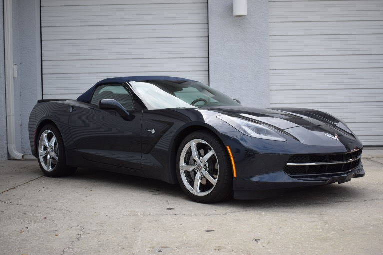 Used 2014 Chevrolet Corvette Stingray Convertible 2D for sale Sold at Track and Field Motors in Safety Harbor FL 34695 1