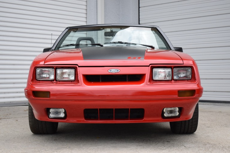 Used 1986 Ford Mustang Custom for sale $6,997 at Track and Field Motors in Safety Harbor FL 34695 3