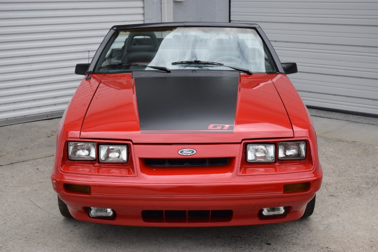 Used 1986 Ford Mustang Custom for sale $6,997 at Track and Field Motors in Safety Harbor FL 34695 4