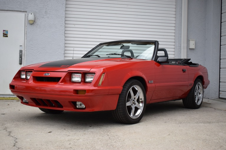 Used 1986 Ford Mustang Custom for sale Sold at Track and Field Motors in Safety Harbor FL 34695 5