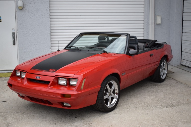 Used 1986 Ford Mustang Custom for sale $6,997 at Track and Field Motors in Safety Harbor FL 34695 6