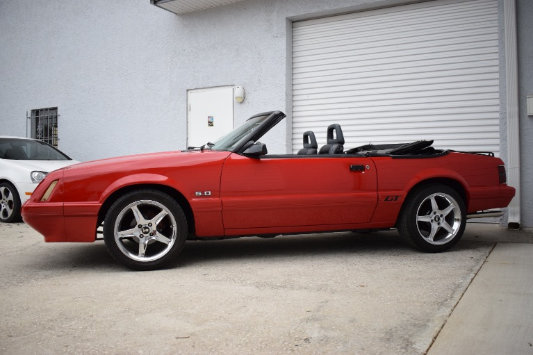 Used 1986 Ford Mustang Custom for sale $6,997 at Track and Field Motors in Safety Harbor FL 34695 7