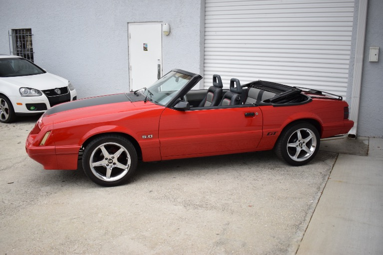 Used 1986 Ford Mustang Custom for sale $6,997 at Track and Field Motors in Safety Harbor FL 34695 8