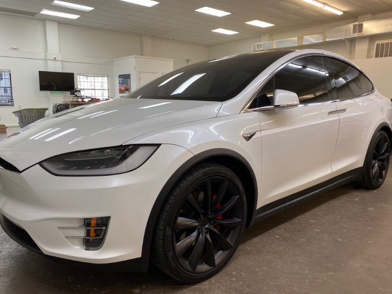 Used 2017 Tesla Model X P100D Sport Utility 4D for sale Sold at Track and Field Motors in Safety Harbor FL 34695 3