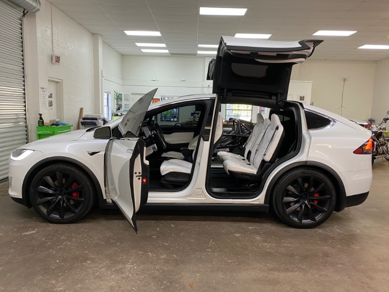 Used 2017 Tesla Model X P100D Sport Utility 4D for sale Sold at Track and Field Motors in Safety Harbor FL 34695 4