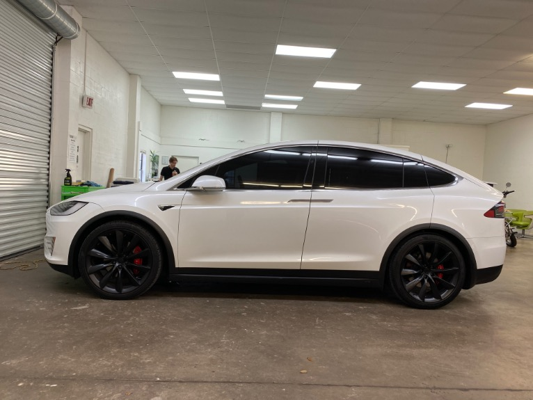 Used 2017 Tesla Model X P100D Sport Utility 4D for sale Sold at Track and Field Motors in Safety Harbor FL 34695 5