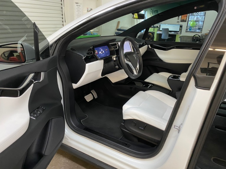 Used 2017 Tesla Model X P100D Sport Utility 4D for sale Sold at Track and Field Motors in Safety Harbor FL 34695 7