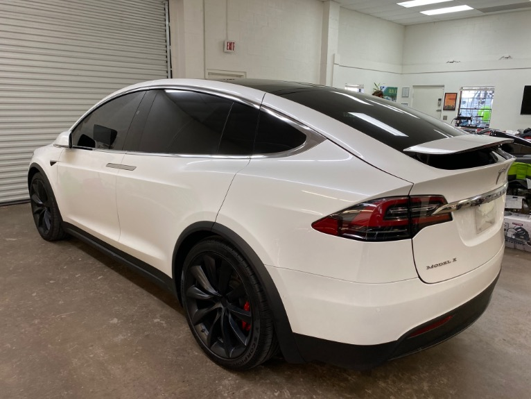 Used 2017 Tesla Model X P100D Sport Utility 4D for sale Sold at Track and Field Motors in Safety Harbor FL 34695 8