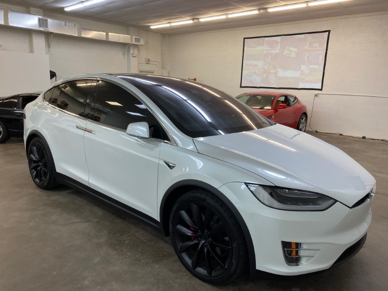 Used 2017 Tesla Model X P100D Sport Utility 4D for sale Sold at Track and Field Motors in Safety Harbor FL 34695 1