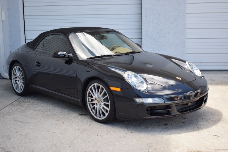 Used 2008 Porsche 911 Carrera S Cabriolet 2D for sale Sold at Track and Field Motors in Safety Harbor FL 34695 2