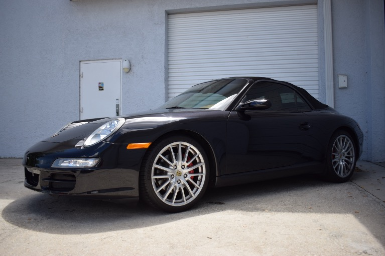 Used 2008 Porsche 911 Carrera S Cabriolet 2D for sale Sold at Track and Field Motors in Safety Harbor FL 34695 5