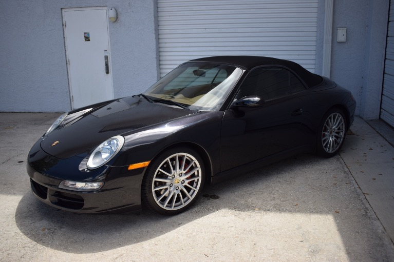 Used 2008 Porsche 911 Carrera S Cabriolet 2D for sale Sold at Track and Field Motors in Safety Harbor FL 34695 6