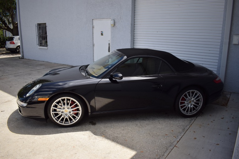 Used 2008 Porsche 911 Carrera S Cabriolet 2D for sale Sold at Track and Field Motors in Safety Harbor FL 34695 8
