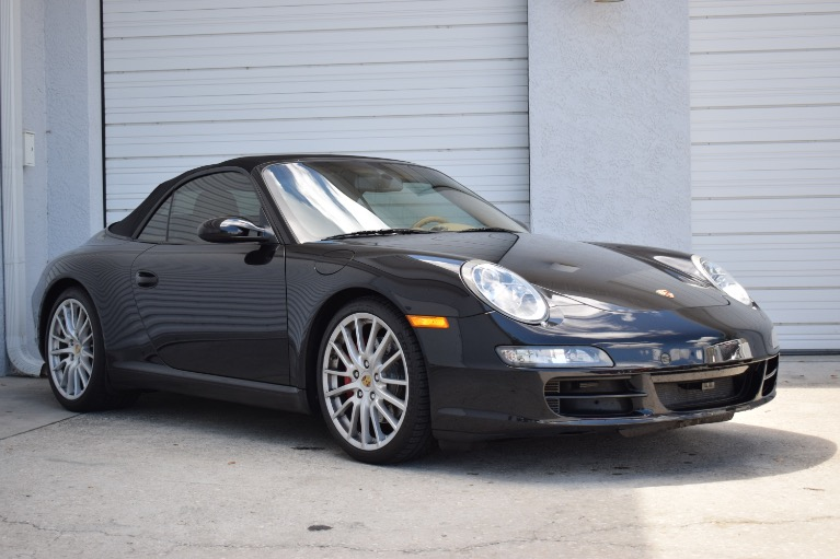 Used 2008 Porsche 911 Carrera S Cabriolet 2D for sale Sold at Track and Field Motors in Safety Harbor FL 34695 1