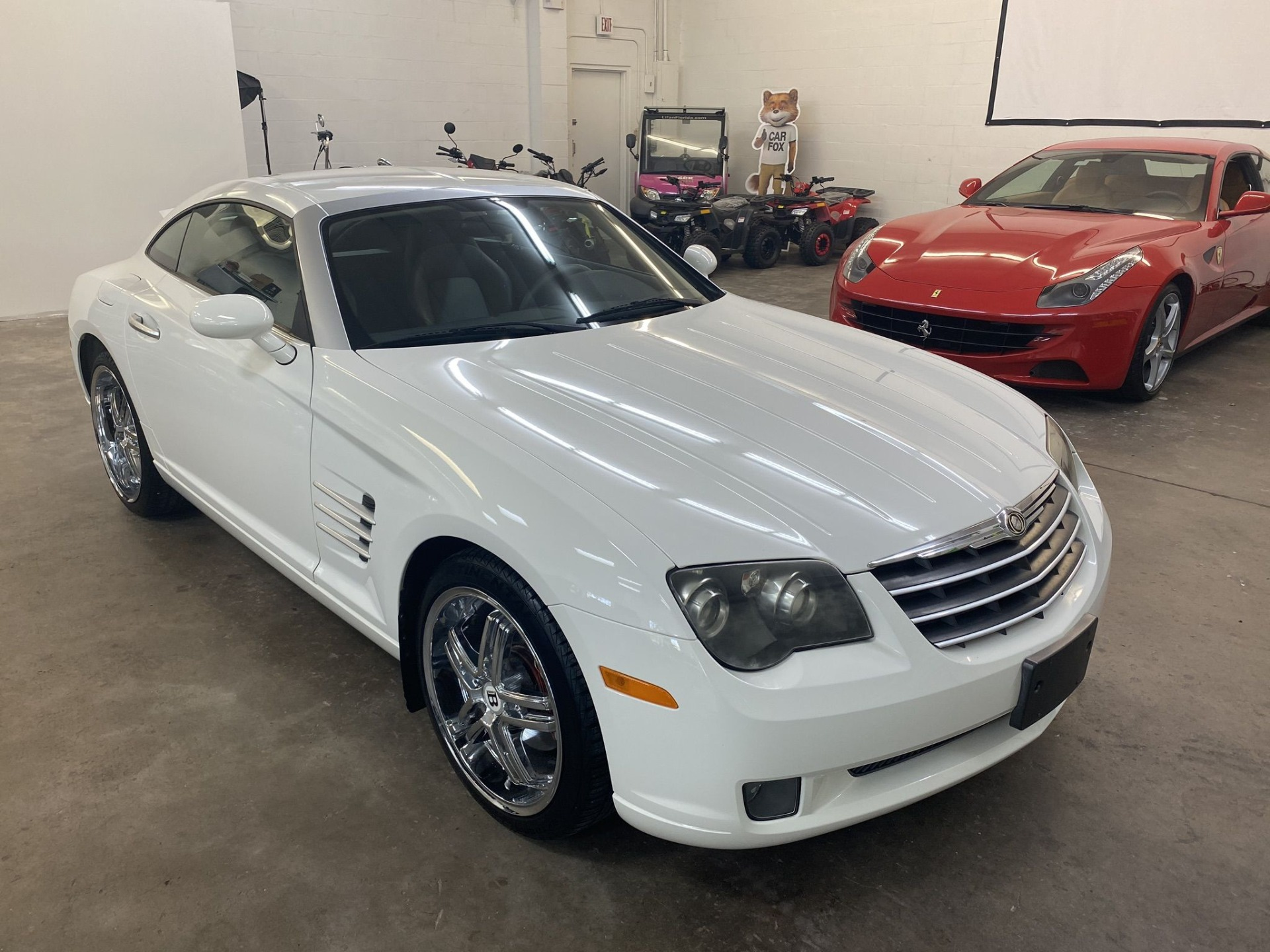 Used 2005 Chrysler Crossfire Limited Coupe 2D for sale Sold at Track and Field Motors in Safety Harbor FL 34695 1