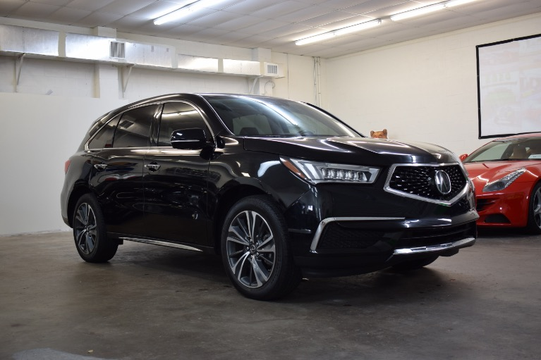 Used 2019 Acura MDX SH-AWD w/Technology & Entertainment Pkgs Sport Utility 4D for sale Sold at Track and Field Motors in Safety Harbor FL 34695 1