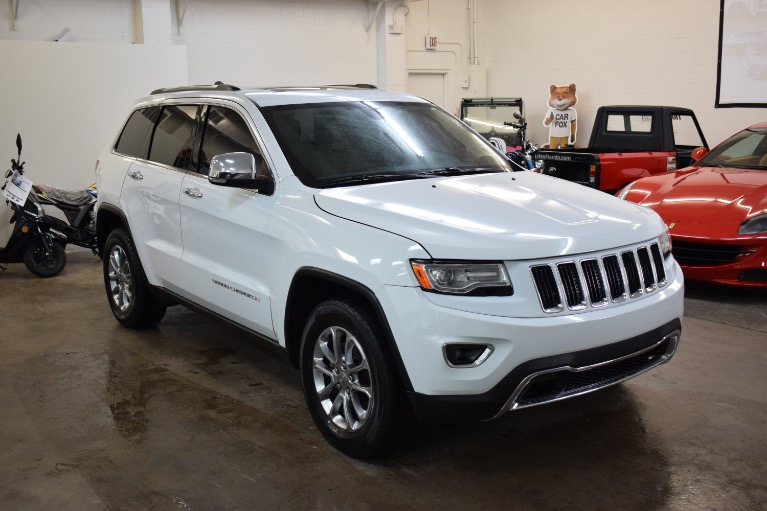 Used 2015 Jeep Grand Cherokee Limited Sport Utility 4D for sale Sold at Track and Field Motors in Safety Harbor FL 34695 2
