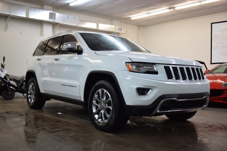 Used 2015 Jeep Grand Cherokee Limited Sport Utility 4D for sale Sold at Track and Field Motors in Safety Harbor FL 34695 1