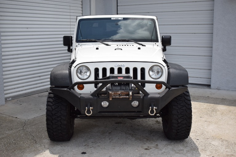 Used 2010 Jeep Wrangler Sport SUV 2D for sale Sold at Track and Field Motors in Safety Harbor FL 34695 4